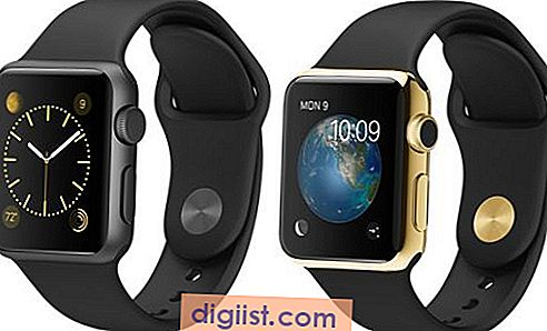 DIY Trickery تحول Apple Watch Sport إلى ذهب