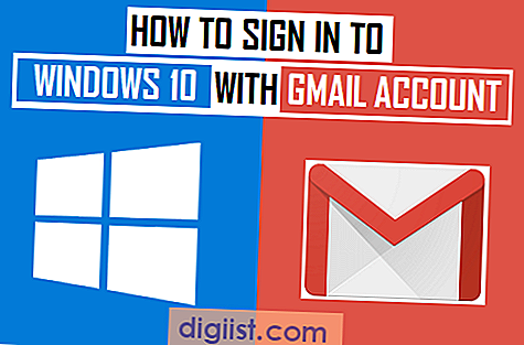 Hur man loggar in i Windows 10 med Gmail-konto