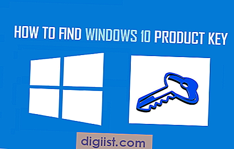 Hur man hittar Windows 10 produktnyckel